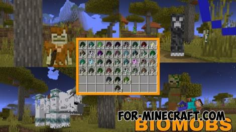 Biomobs Addon for MCPE 1.11