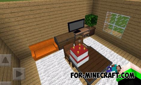 Nako Furniture Mod for Minecraft PE