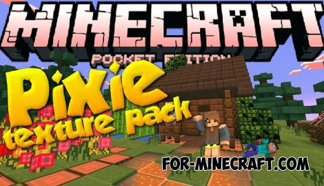 PIXIE Pack for Minecraft PE 1.10.1 - 1.11.0.9