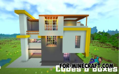Modern Style House for Minecraft PE 1.11.0.10