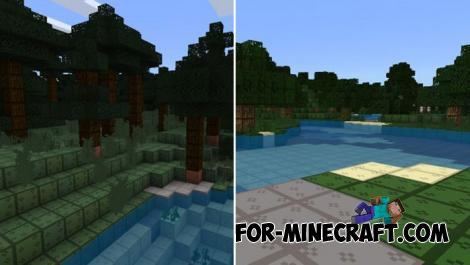 Plain Pixels Texture Pack for Minecraft PE 1.10+