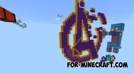Avengers Endgame Map for Minecraft PE 1.12