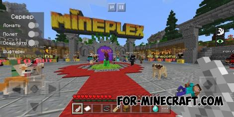 Server Hack for Minecraft PE 1.10