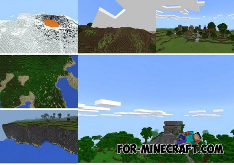 Notch's Lands Map for Minecraft PE 1.11