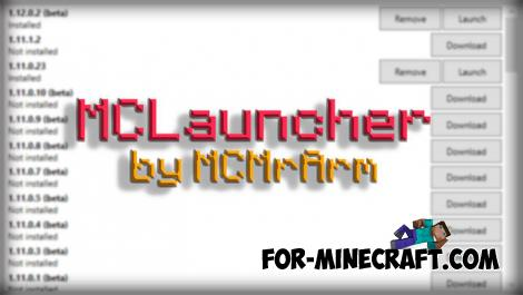 MCLauncher (Win10 Multi-Version Launcher)