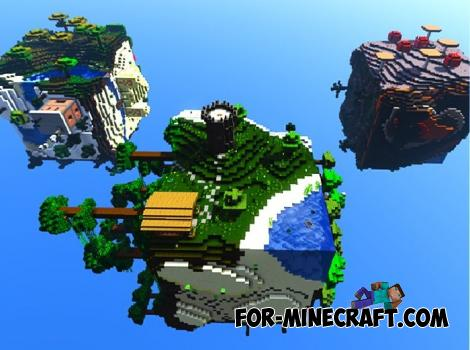 Cube World Map for Minecraft PE 1.12