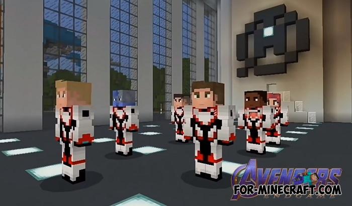 Avengers Endgame Skin Pack For Minecraft Pe