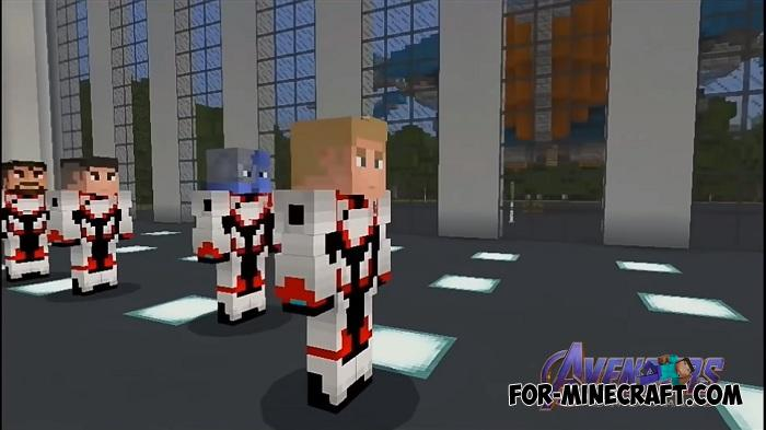 Avengers Endgame Skin Pack for Minecraft PE