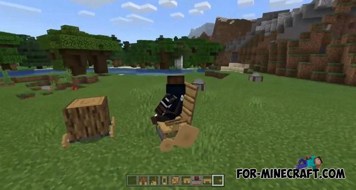 Wooden Wheels Addon for Minecraft PE 1 12