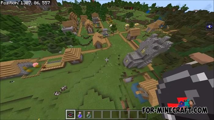 7 Villages Seed for Minecraft PE 1 12 0 3+