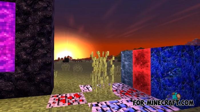 IYAS Shader (3D/4K) for Minecraft PE 1 12