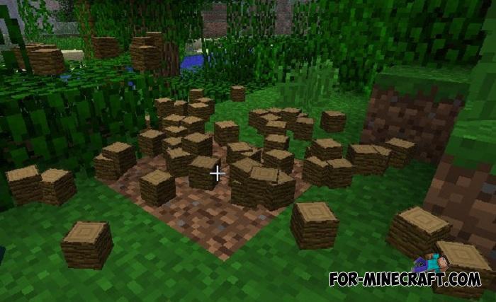 TreeCapitator Addon for Minecraft PE 1 11 & 1 12