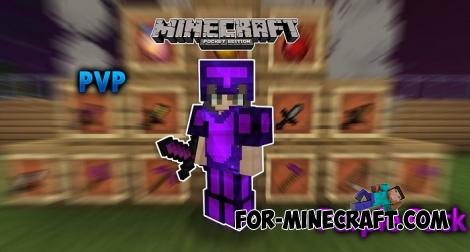 PurpleFade Texture Pack for Minecraft PE 1.12