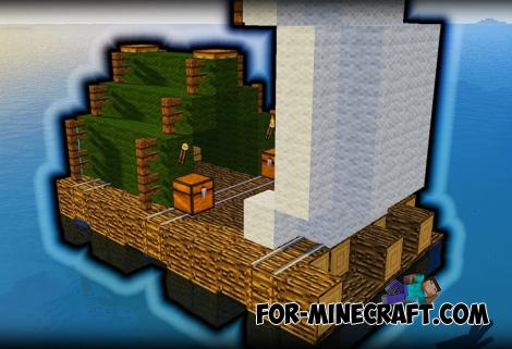 The RAFT Map for Minecraft PE 1.12.0.4