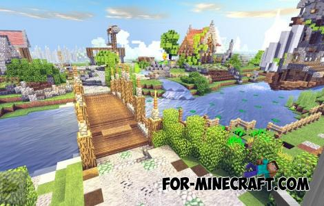 TSPE Shader for Minecraft PE 1.12.0.4