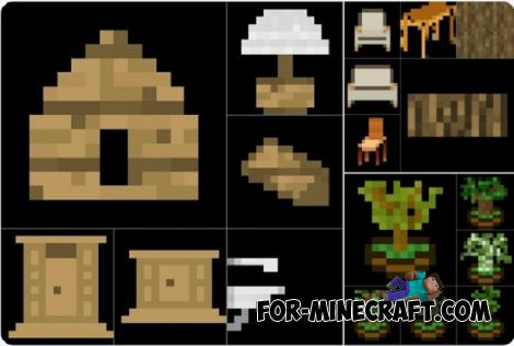 More Furniture Addon for Minecraft PE 1.11