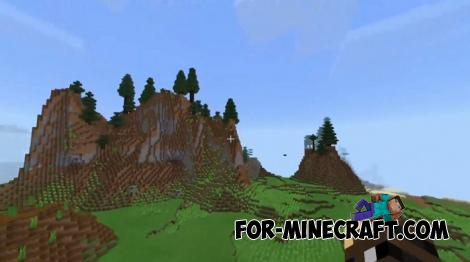 New Biomes Addon for Minecraft PE 1.12