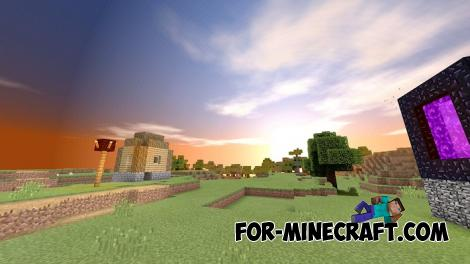 Oasis Shader for Minecraft PE 1.11 & 1.12