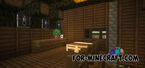 House in a Hole Map for Minecraft PE 1.11 n 1.12