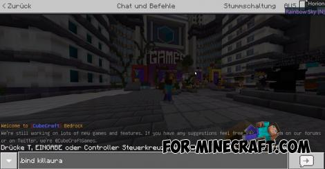 Horion Hack for Minecraft Bedrock