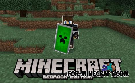 Custom Shields Addon for Minecraft PE 1.12