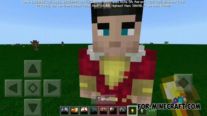 Justice League Addon v1 0 12 for Minecraft PE 1 12/1 13