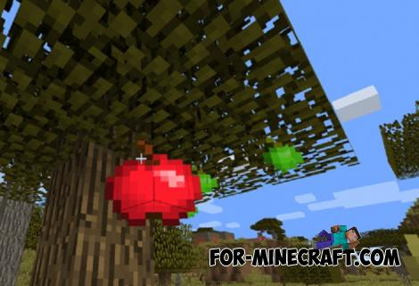 More Apples Addon for Minecraft PE 1.12