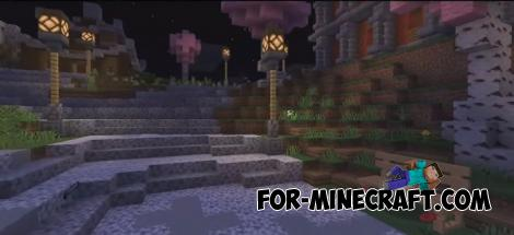 Ninja PvP Map for Minecraft PE 1.12