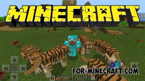Tigers Addon for Minecraft PE 1.11/1.12