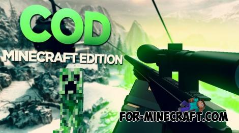 CoD 1 Map for Minecraft PE 1.12.0.11