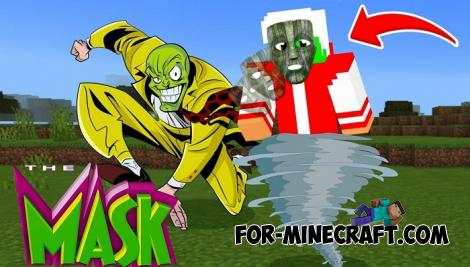 The Mask Addon for Minecraft PE 1.11 & 1.12