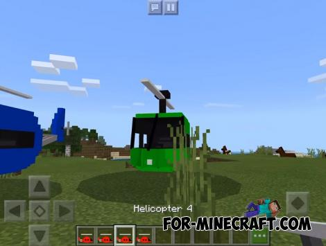 Heli Addon for Minecraft PE 1.12.0.13+