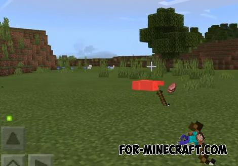 Throwing Shovel Addon for Minecraft PE 1.12