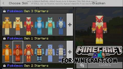 Become a Pokemon Skins for Minecraft PE