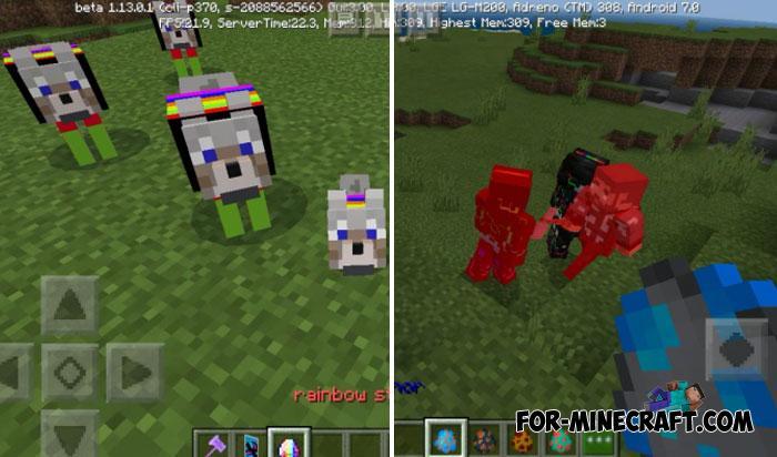 Elemental Swords Addon for Minecraft PE 1 12/1 13