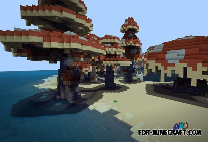 Small Custom World Map For Minecraft Pe