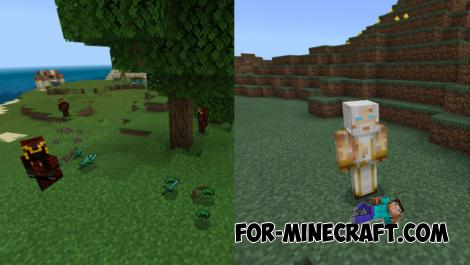 Wonderful World Addon for Minecraft PE 1.13
