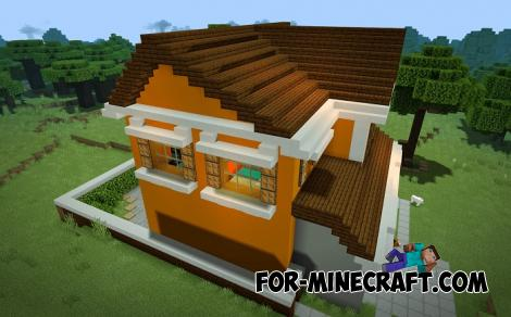 Dwelling House Map for Minecraft PE 1.13