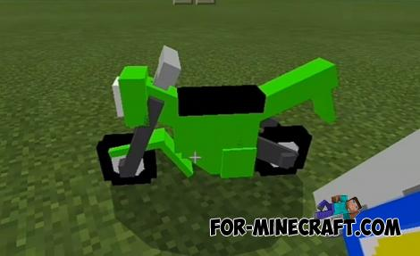 Simple Vehicles Addon for Minecraft PE