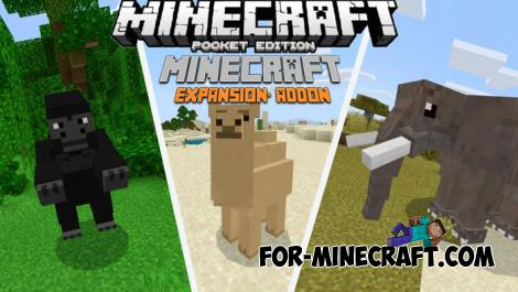 Expansion Plus Addon for Minecraft PE