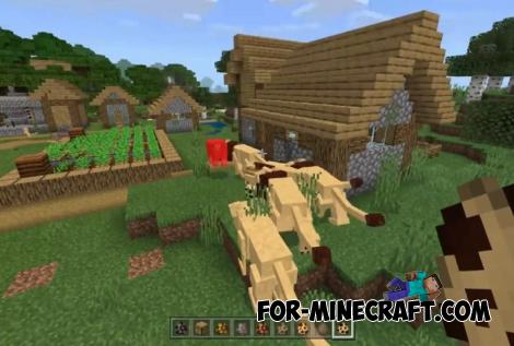 Expansion Plus Addon for Minecraft PE 1.12