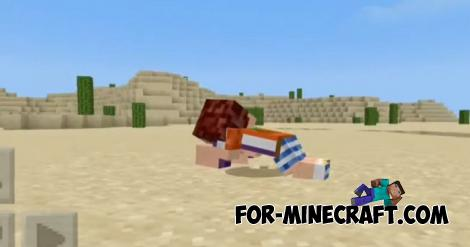 Animated Player Addon for Minecraft PE 1.13