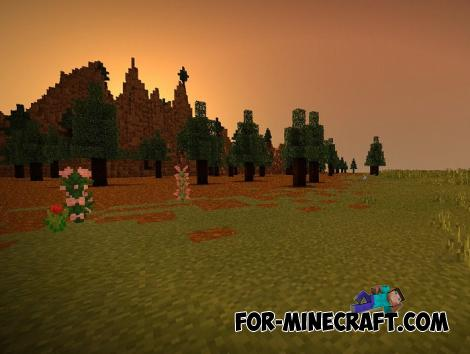 Pluton Shaders v5.0 for Minecraft PE 1.12 & 1.13