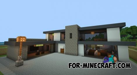 Average Mansion Map for Minecraft PE