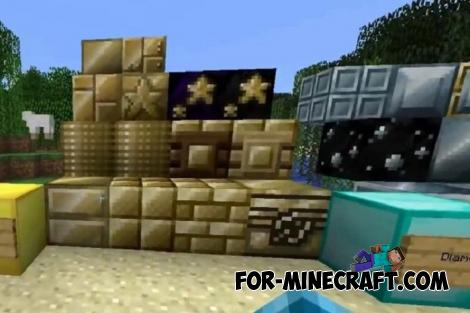 Chisel Addon for Minecraft PE 1.12 & 1.13