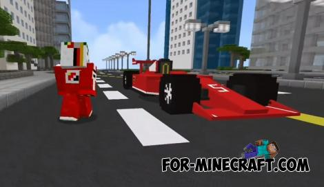 F1 Addon for Minecraft PE 1.13.0.2