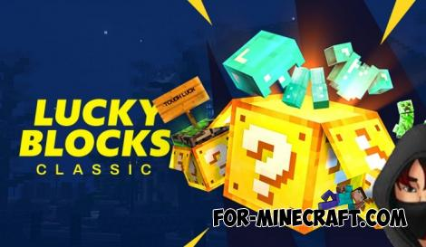 Vanilla Lucky Block Addon for Minecraft PE 1.13