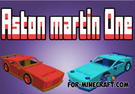 Aston Martin Addon for Minecraft PE 1.13