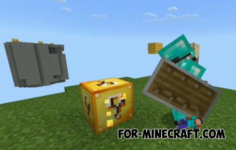Lucky SkyBlock Map for Minecraft PE 1.13