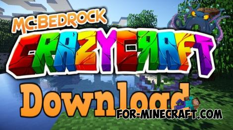 Crazycraft ModPack for Minecraft PE 1.12+